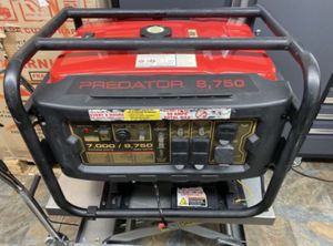 PREDATOR 8750 Watt Max Starting Gas Powered Generator - EPA III for Sale in Los Angeles, CA