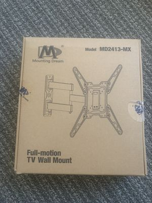 TV wall mount for sale. Full motion up to 55 inches for Sale in Los Angeles, CA