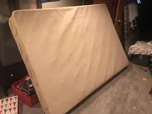 Free double / full box spring. Clean for Sale in Mansfield, MA