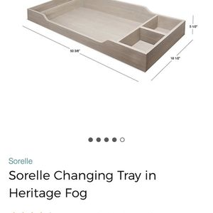 White Changing Table Tray Topper for Sale in Irvine, CA