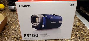 Canon. FS100 Video Camera New but needs Battery Replaced for Sale in Peoria, AZ