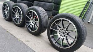 Wheels 17 5 lugs universal for Sale in Long Beach, CA