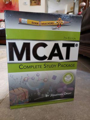 MCAT exam prep books for Sale in Lynnwood, WA