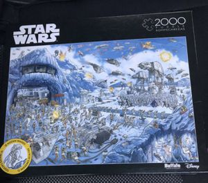 Buffalo games, Disney, Star Wars 2000 piece puzzle, new in box for Sale in Spring Valley, CA