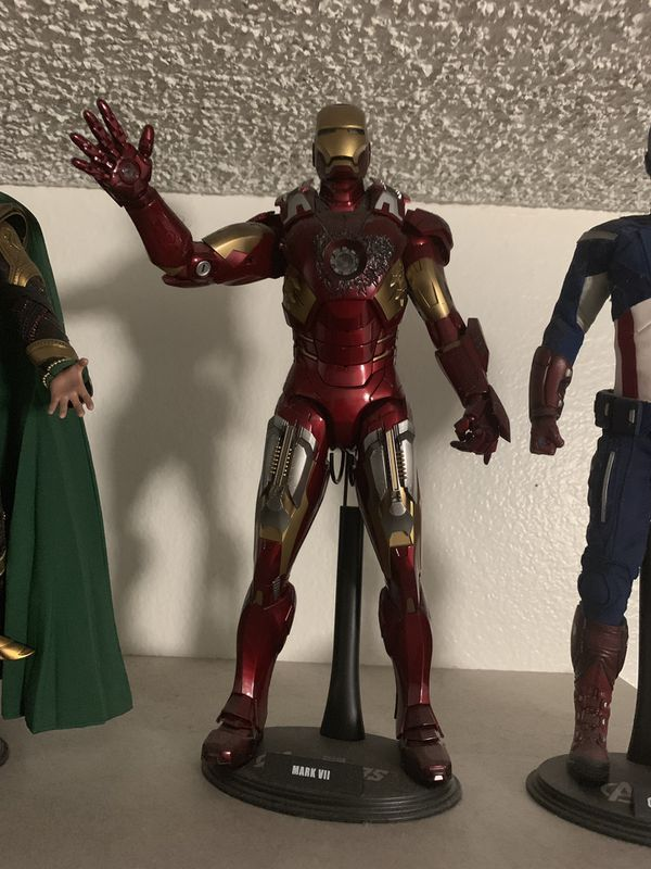 Avengers Hot Toys 1/6 scale figure dolls Loki Thor Iron Man Captain America Hawkeye