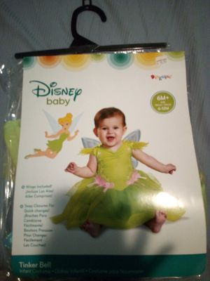Tinker Bell costume 6-12 mnths for Sale in Riverside, CA
