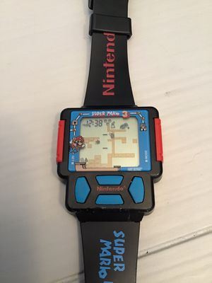 Super Mario Brothers 3 Nintendo Video Game Wrist Watch (1990) for Sale in Goodlettsville, TN