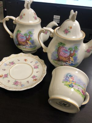 Alice in wonderland tea-set for Sale in Orlando, FL