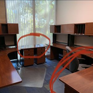 3 Desks L Shaped for Sale in Orange, CA