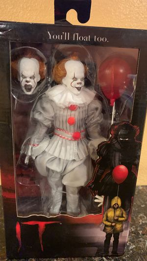 "IT Pennywise 8"" Clothed Action Figure NECA for Sale in Fullerton, CA"