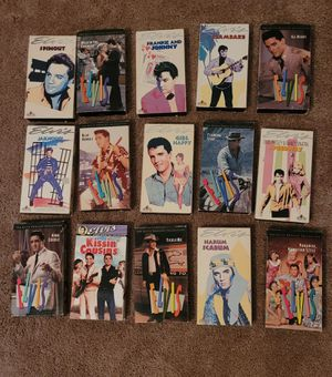 15 Elvis Presley VHS for Sale in Phoenix, AZ