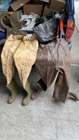 2 pairs fishing waders for Sale in North Brunswick Township, NJ