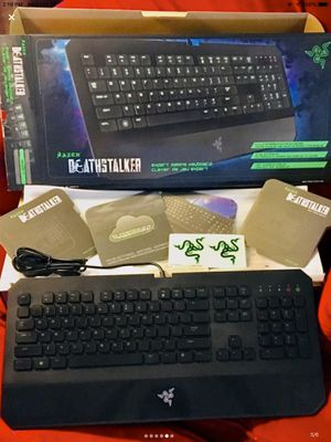 Razer Deathstalker Expert Gaming Keyboard for Sale in Tupelo, MS
