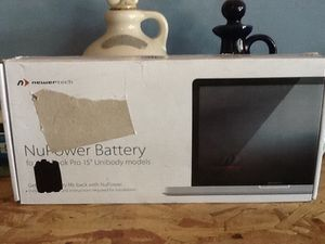 "Macbook Pro 15"" new battery for Sale in Fresno, CA"