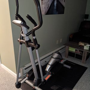 NEW Elliptical Exercise MachimeWith Floor Pad for Sale in Salem, MA
