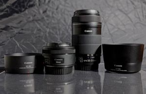 Canon EF 50mm STM & Canon EF-S 55-250mm IS STM Set for Sale in Miami, FL