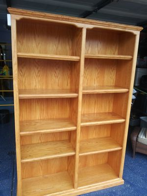 Solid oak wood Bookshelve for Sale in Riverside, CA