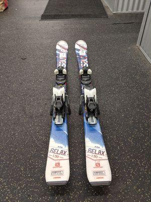 Salomon Relax 130cm Downhill Ski with Salomon L10 Binding for Sale in Northbrook, IL