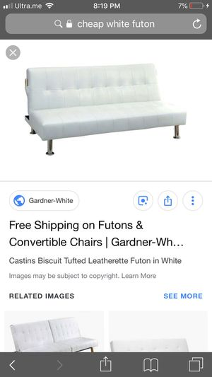 Futon not white for Sale in Glen Burnie, MD