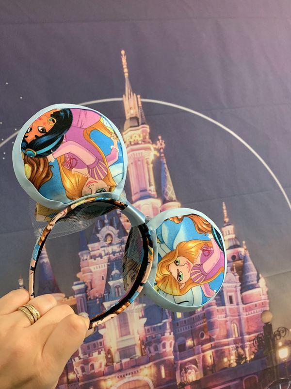 Cinderella Inspired Minnie Ears!