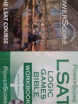 LSAT Practice Books - BRAND NEW - Never Used for Sale in Spring,  TX