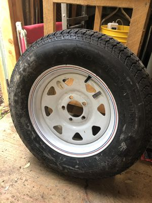 Trailer tire for sale for Sale in Oldsmar, FL