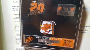 Tony Stewart NASCAR Home Depot limited edition pin set for Sale in New Britain, CT