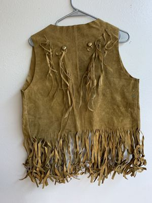 Vintage Women's leather vest for Sale in Arvada, CO