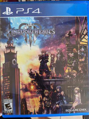 Kingdom Hearts 3 ps4 for Sale in Brandon, FL
