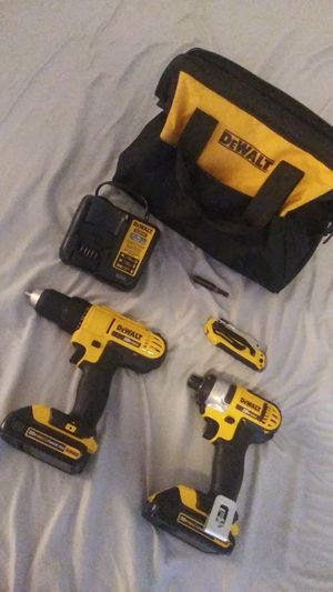 DeWalt impact and drill set for Sale in Phoenix, AZ