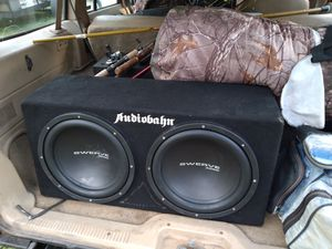 Audiobahn 12s matching box for Sale in Ridgeway, SC
