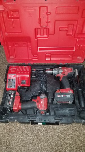 18v milwaukee hammer drill and impact for Sale in Independence, MO