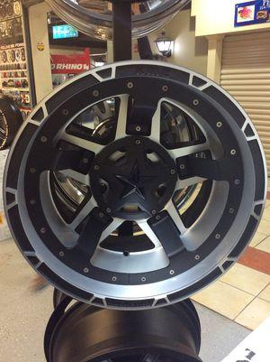 "⭐️Brand New Rims 20"" Rockstar 3 XD827 Black/Machine Rims for Sale in Lilburn, GA"
