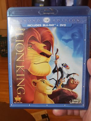 The Lion King Diamon Edition Bluray for Sale in Minneapolis, MN