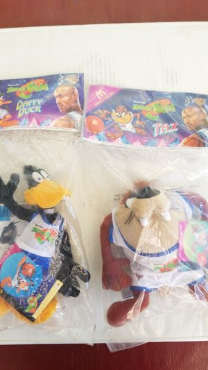 Space jam plushies for Sale in Sacramento, CA