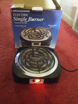 Electric Single Burner - $5.00 for Sale in St. Louis, MO