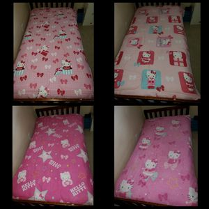 2 reversible Hello Kitty blankets for Sale in Houston, TX