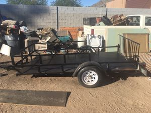 5x10 utility trailer for Sale in Phoenix, AZ
