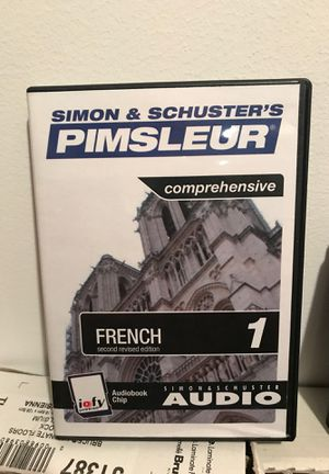 Used, Simon and Schusters Pimsleur Comprehensive F