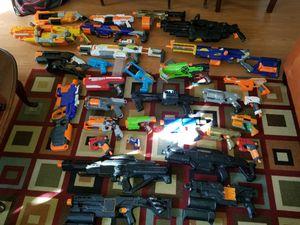Nerf gun lot for Sale in Honolulu, HI