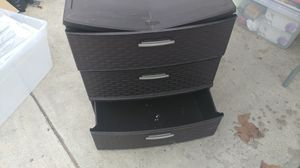 Plastic organizer drawers for Sale in Whittier, CA