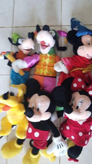 Disney plush all for $10 for Sale in Woodbridge, VA