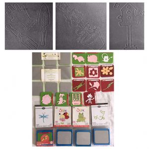 Sizzix SPROUTSIES ALPHABET + garden themed SIZZLIT dies for Sale in North Tustin, CA