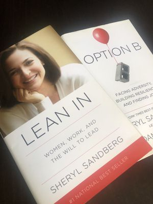Sheryl Sandberg Lean In & Option B - Sold Together Hardcovers for Sale in Downers Grove, IL