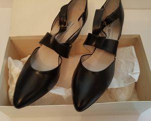 Vintage Via Spiga Black Wrap Leather Dress Shoes for Sale in New London, CT
