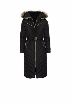 Michael Michael Kors Women's Black Down Maxi Long Puffer Coat Belted Size XS. Condition is Pre-owned. See pictures ask questions and make an offer! for Sale in Queens, NY