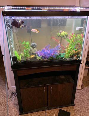 Fish Aquarium / 65 Gallon / Like New for Sale in Acworth, GA