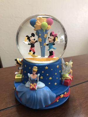 Disney musical birthday water globe for Sale in Modesto, CA