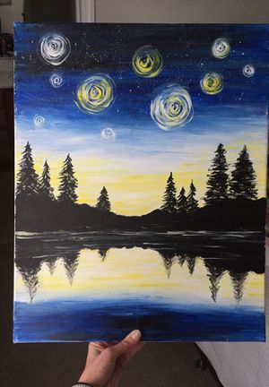 Painting on canvas for Sale in Apex, NC