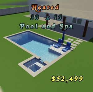 New Swimming Pool Rectangle for Sale in Ontario, CA